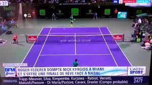 Resume Miami Résumé Du Match Federer Kyrgios Demi Finale Du Tournoi Atp De