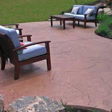 Textured Concrete Patio by Stamped Concrete Textured Concrete Allentown Pa