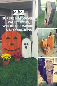 337 best pallet halloween decorations images on pinterest