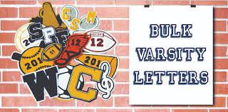 wholesale bulk varsity letters cougar headquarters