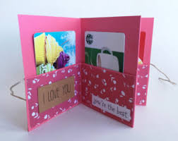 gift card book gift birthday gift for coupons pocket book i