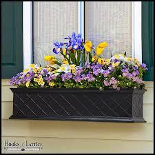 Window Boxes Planters by La Fleur Self Watering Fiberglass Window Box Planters