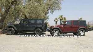 jeep truck spy photos jeep jt pickup test mule spy photos