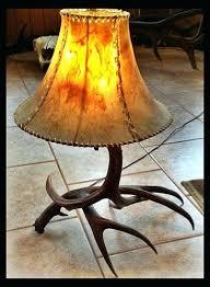 deer antler lamp shades 51742 loffel co