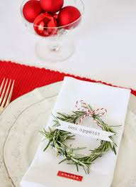 christmas place card ideas a spoonful of sugar