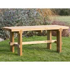 Emily Garden Bench Wooden Furniture Outdoor Garden Furniture Robert Dyas
