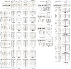 Length Of A Standard Bathtub Standard Window Sizes Guide