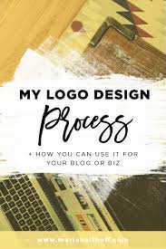 my logo design process how you can use it for your blog or biz