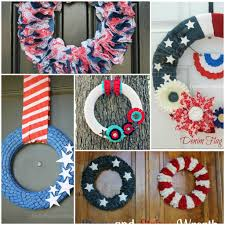 4th of july wreaths 5 diy wreaths the 4th of july home stories a to z