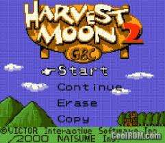 gbc roms for android harvest moon 2 gbc rom for gameboy color gbc coolrom