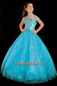 2015 new style gold shinning girls pageant dresses long real