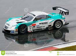 lexus japan japan super gt 2009 lexus team petronas tom u0027s editorial stock