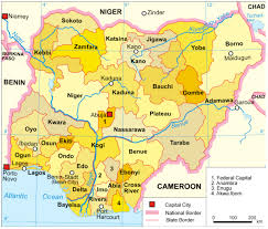 Map Of Nigerian States by Nigeria English U2014 Sharing Our Cultures