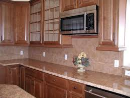 u shaped brown kitchen designs with oak cabinets combined small