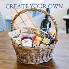 local gift baskets create your own gift basket the santa barbara company
