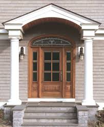 Exterior Door Pediment And Pilasters Dressing Up Windows And Doors How To