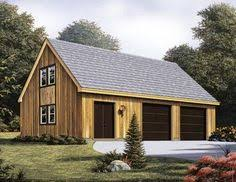 Garage With Loft Garage Plan 76153 Area 768 Sq Ft 3 Bays 32 U0027 X 24 U0027 3cargarage