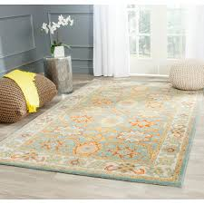 Safavieh Rug by An Intricate Oriental Design And Dense Thick Pile Highlight This