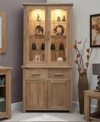 solid oak china cabinet eton solid oak living dining room furniture small dresser display