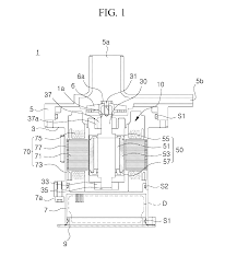 patent us20140227118 water pump motor using a waterproof stator