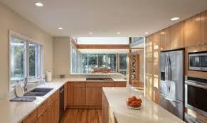best color quartz with maple cabinets best 60 modern kitchen medium hardwood floors engineered