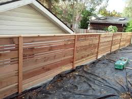best horizontal fence ideas backyard fences pictures designs 2017