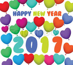 happy new year balloon happy new year 2017 background with balloons colorful stock