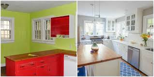 Elegant Kitchen Makeover Ideas With Granite Countertop And Bright - Simple kitchen makeover
