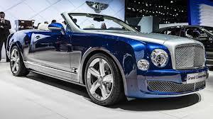 bentley mulsanne blue meet bentley u0027s huge grand convertible top gear