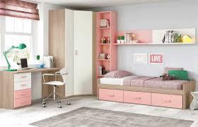 bureau pour chambre de fille étourdissant lit avec bureau pour fille avec chambre denfant pour