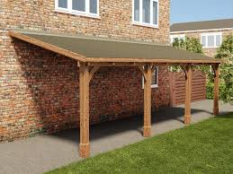 How To Build A Detached Garage Howtospecialist How To by The Brontes Lean To Carport Is An Effective Way Of Sheltering Your