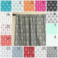 Fabric For Nursery Curtains Nursery Curtain Panels Arrow Curtain Panels Black And