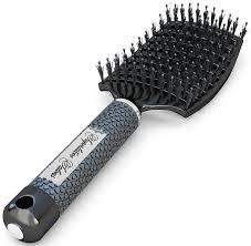 best hair brushes amazon com boar bristle brush best at detangling thick hair