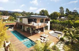 House Plans With Pool House A Modern California House With Spectacular Views Photo On