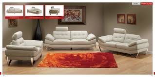 interior contemporary room design white sofa abstract painting art