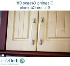 Clean Cabinet Doors How To Clean Grease Kitchen Cabinets Kenangorgun