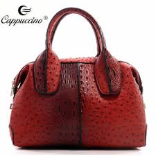designer handbags for cheap 2016 trending croc ostrich top handle satchel bags designer