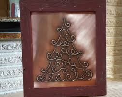 Barn Board Christmas Decorations by Copper Christmas Etsy