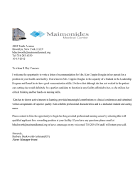 collection of solutions sample reference letter for medical
