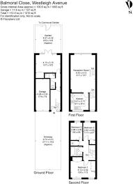 balmoral floor plan 3 bedroom terraced house for sale in balmoral close westleigh