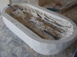 mexican marble travertine bathtub u0027elizabeth u0027