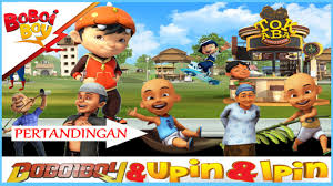 download film ipin dan upin terbaru bag 2 boboiboy bertemu upin ipin kolaborasi dikagame boboiboy the