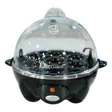 elite cuisine elite cuisine egg cooker black ptl shopping