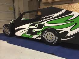 Race Car Bunk Beds Modified Race Car Bed Plans