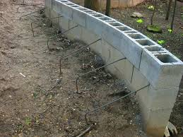 cinder block retaining wall design how to build a concrete the