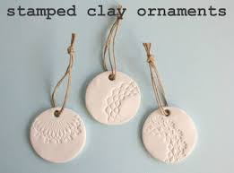 sted clay ornaments craft snob