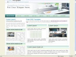 interior designing websites interior design website template 27 free css templates by http