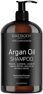 volumizing shoo for color treated hair amazon com baebody moroccan argan oil shoo 16 oz sulfate