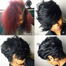 shortcut for black hair the switch up love that heavy bang dmvstylist k green hair
