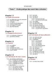 cap cuisine correspondance cap de cuisine cap de cuisine tome 1 et 2 pdf archive formation cap